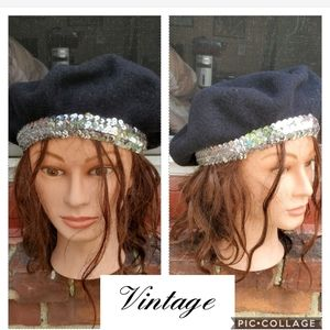 Vintage Lord and Taylor.wool beret